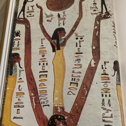 Representación Simbólica de la diosa