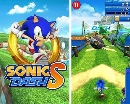Baixar e jogar Sonic Dash no telefone