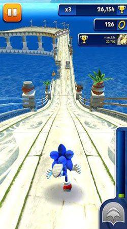 O Sonic Dash Jogo online App gratuito