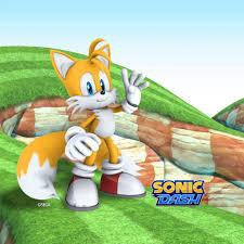 O Sonic Dash atraente 3D