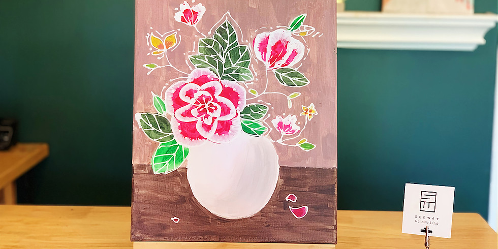 3D PAINTING - FLOWERS