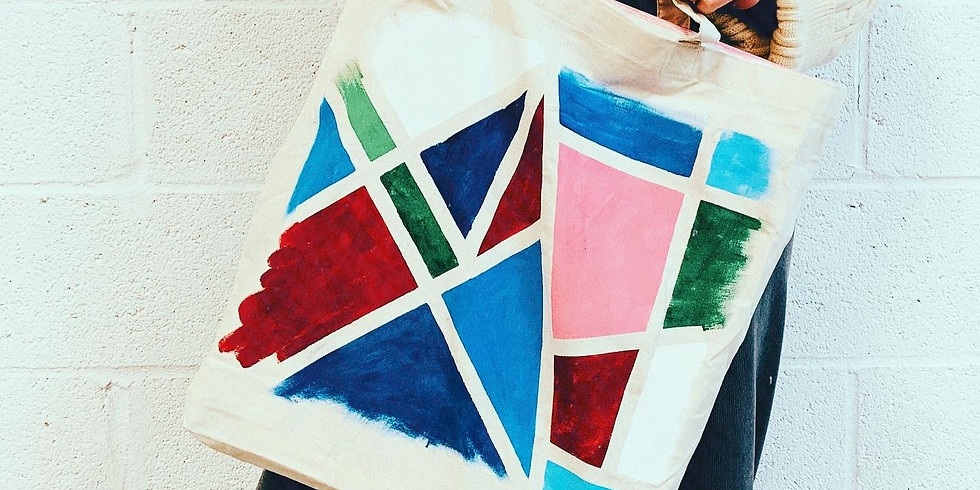 TOTE BAG: INSPIRED BY MONDRIAN