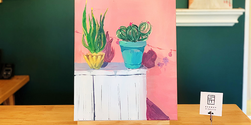 POTTED PLANT - B