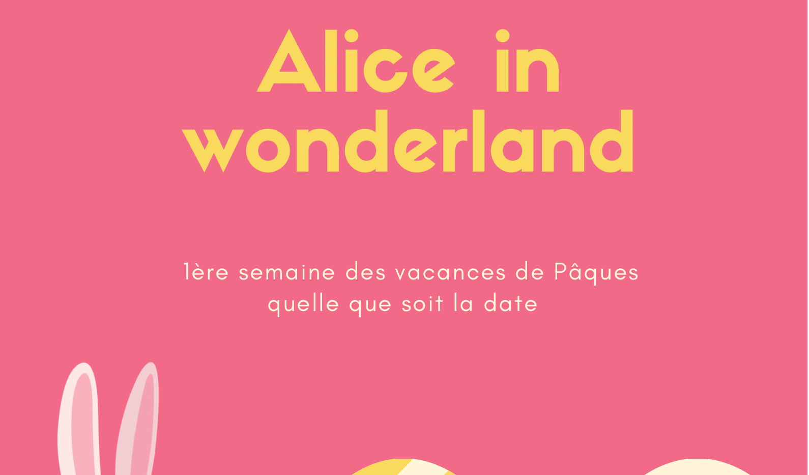 Alice in Wonderland 1st week