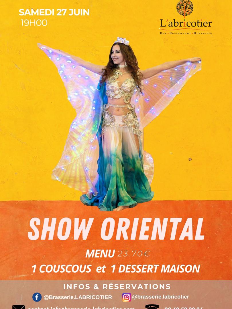 Show oriental