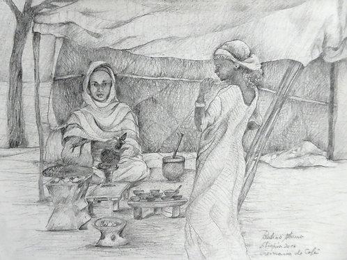 Cérémonie du café, Ethiopie