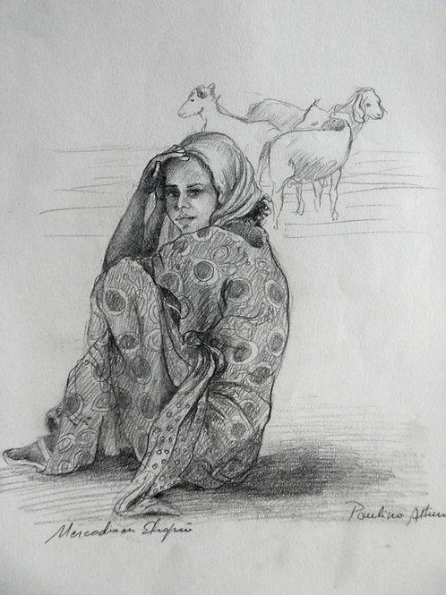Petite fille au marché, Ethiopie