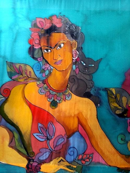 Frida Kahlo, 100 x 90 cm