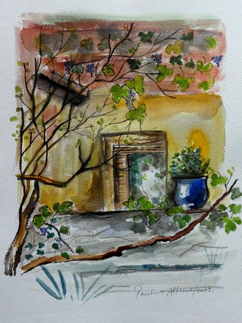 Yvoire, France  20 x15 cm