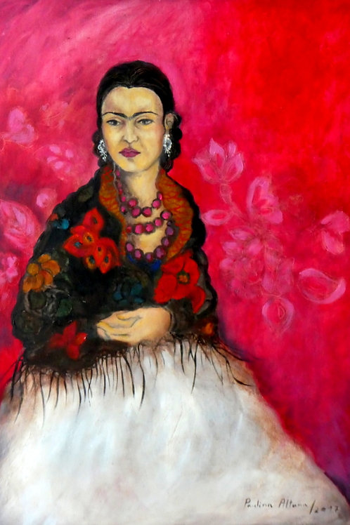 Frida Kahlo, 70 x 50 cm