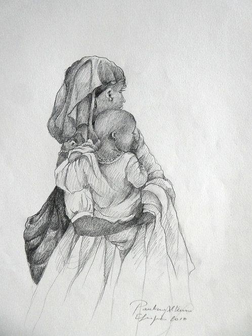 Femme et enfant, Ethiopie