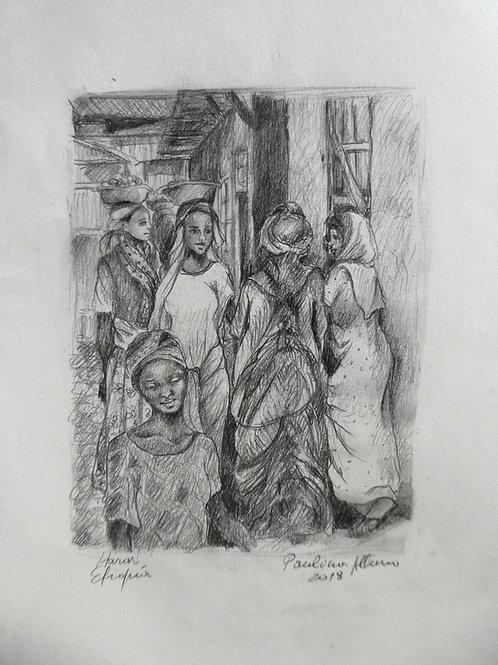 Au marché d'Harar, Ethiopie
