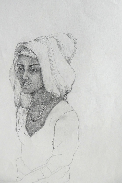 Femme au marché, Ethiopie