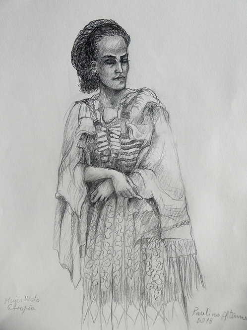 Femme Wolo, Ethiopie