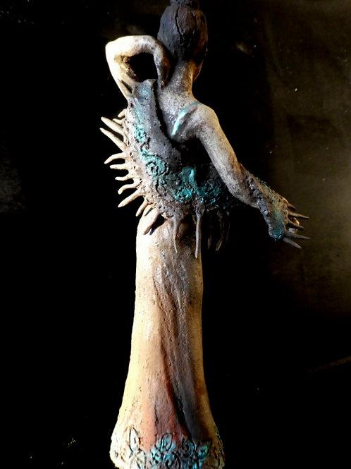 Figure féminine, 8 x 5 x 5 cm