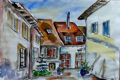 Paysage Suisse 30 x 40 cm