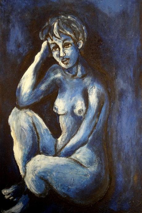 Nue féminine (120 x 90 cm)