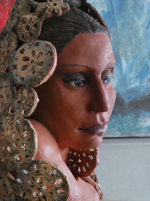 Maria Duchicela, 40 x 30 x 30 cm