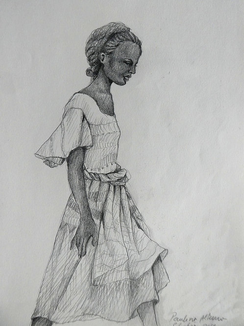 Adolescente au marché, Ethiopie