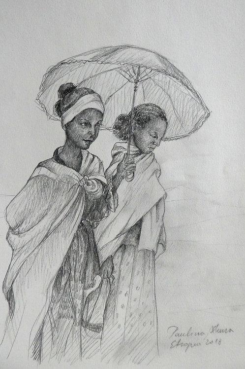 Paysannes, Ethiopie