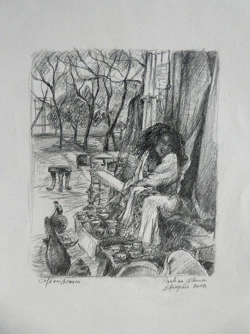 Cérémonie du café à Axoum, Ethiopie