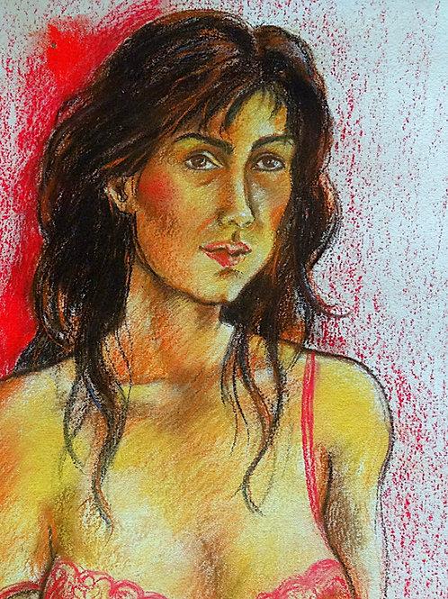 Autoportrait (70 x 50 cm)