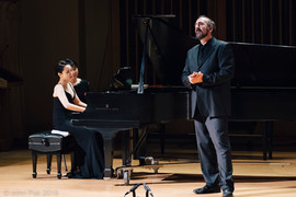 Anton Belov, Baritone and Wenwen Du, Piano