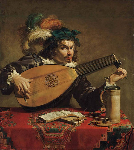 Theodor Rombouts_Lute Player