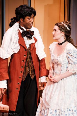 Dorian McCall, Figaro and Katrina Deininger, Susanna