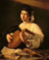 Caravaggio-The Lute Player