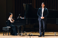 William Goforth, Tenor and Wenwen Du, Piano