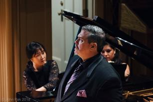 Richard Zeller, Baritone and Beth Nam, Piano