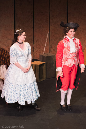 Katrina Deininger and Sandra Sharis as Susanna and Cherubino