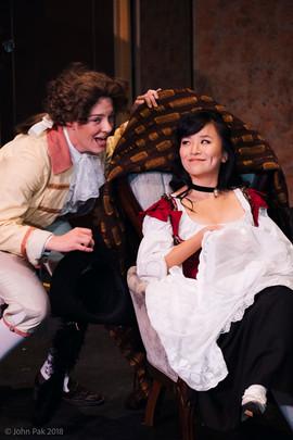 Hailey McAvoy, Cherubino and Ivy Zhou, Susanna