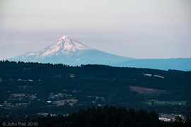 View of Mount Hood in the Distance