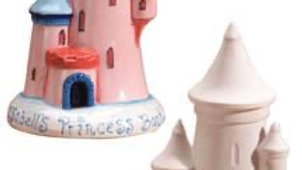 Castle money box - paint at home kit