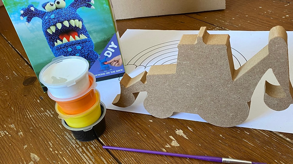 Digger and monster craft kit