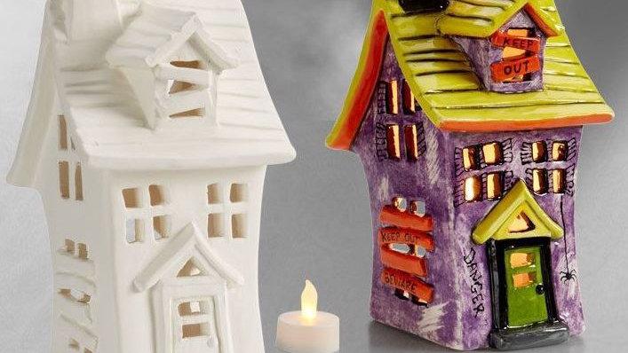 Haunted House Lantern