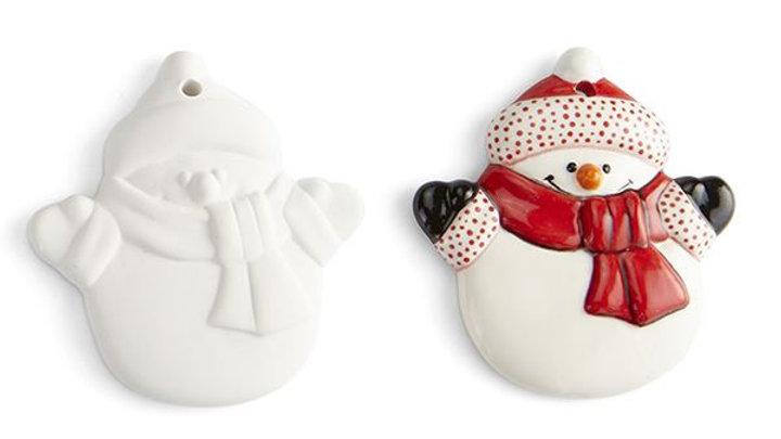 Set of 4 Christmas Tree Decorations