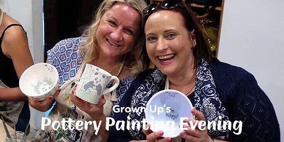 Grown Up's Painting Evening - 2nd Nov