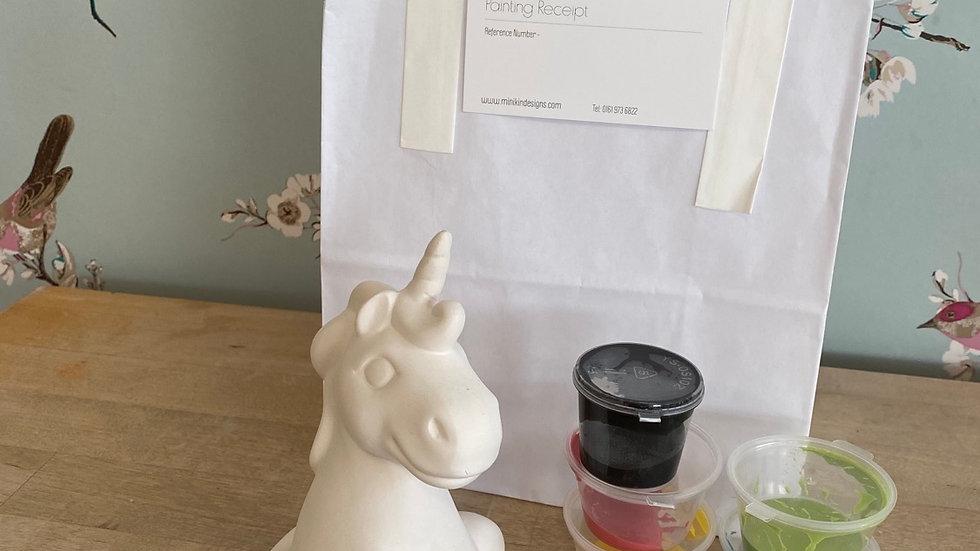 Unicorn take home kit