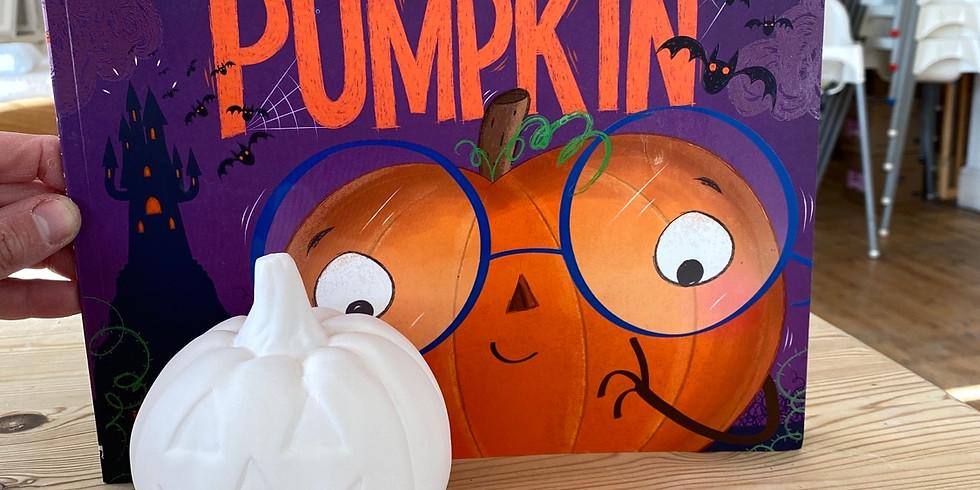 Paint me a story - Christopher Pumpkin