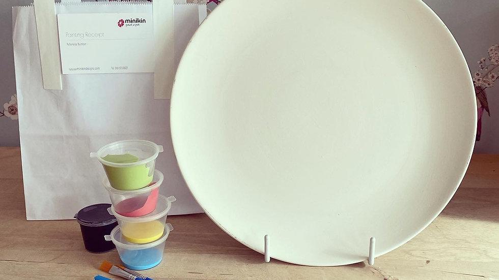 27cm dinner plate - take home kit
