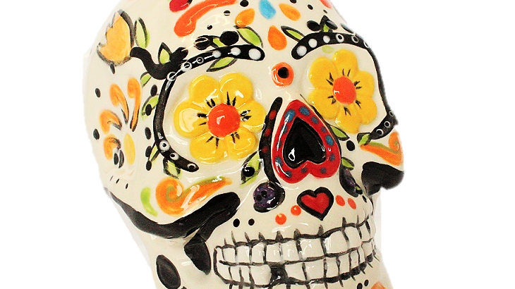 Skull Moneybox
