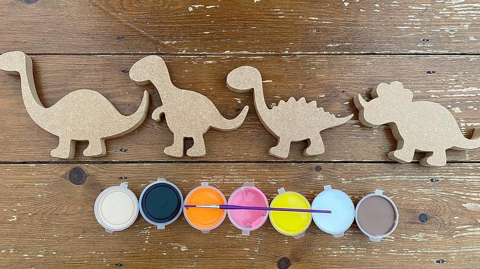 Dinosaur craft kit