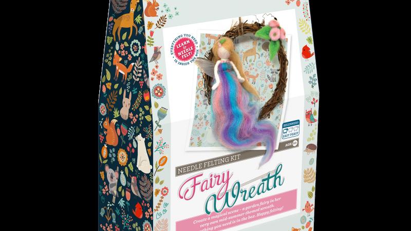 Summer Fairy Needle Felting kit