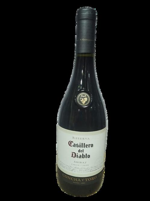 Vinho tinto seco Casilero Shyraz Chile
