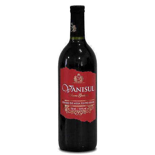 Vinho de Mesa Vanisul - Tinto Suave - 750ml