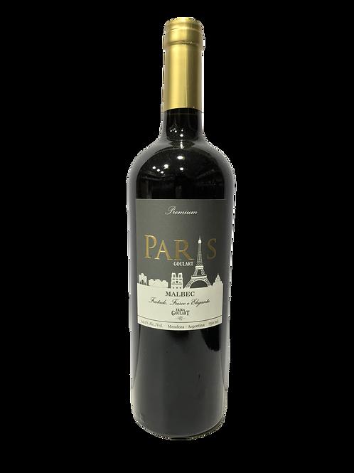 Vinho Tinto Paris Goulart Malbec