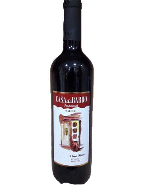 Vinho Tinto Casa de Barro Malbec